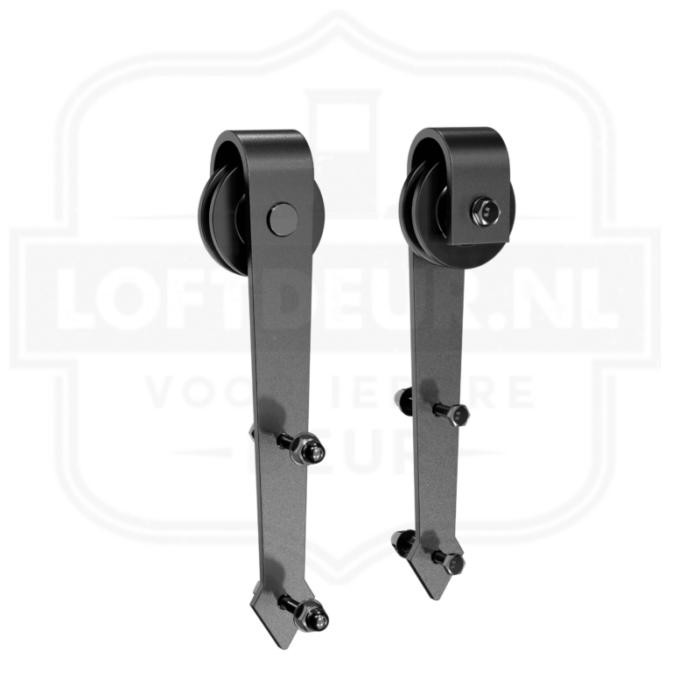 pijl-hangers-voor-loftdeur-schuifdeursysteem-mat-zwart-railsysteem