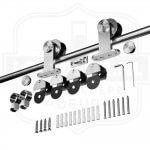 RVS Schuifdeurssysteem - Roestvrijstaal schuifdeursysteem Lzelf houten schuifdeur maken