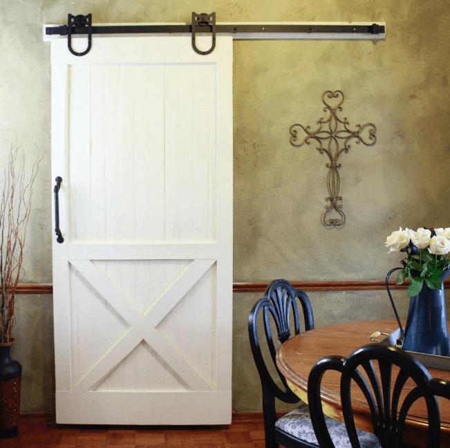 Hoef schuifdeurbeslag loftdeur om zelf een schuifdeur te maken