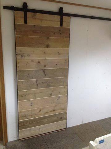 Gyproc muur / Gipsblokken – Gips muur – schuifdeur ophangen