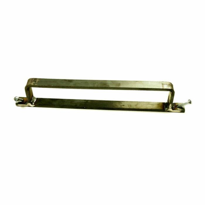 Platstaal Schuifdeur handgreep- Schuifdeur van Hout maken - staal handvat