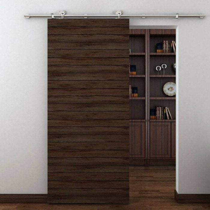 RVS Schuifdeur systeem dubbel loftdeur