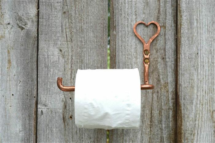 Toiletrolhouder Koper