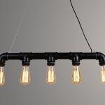 1 Steamlight steammpunk edison pipe lamp steigerbuis