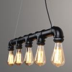 2 Steamlight steammpunk edison pipe lamp steigerbuis