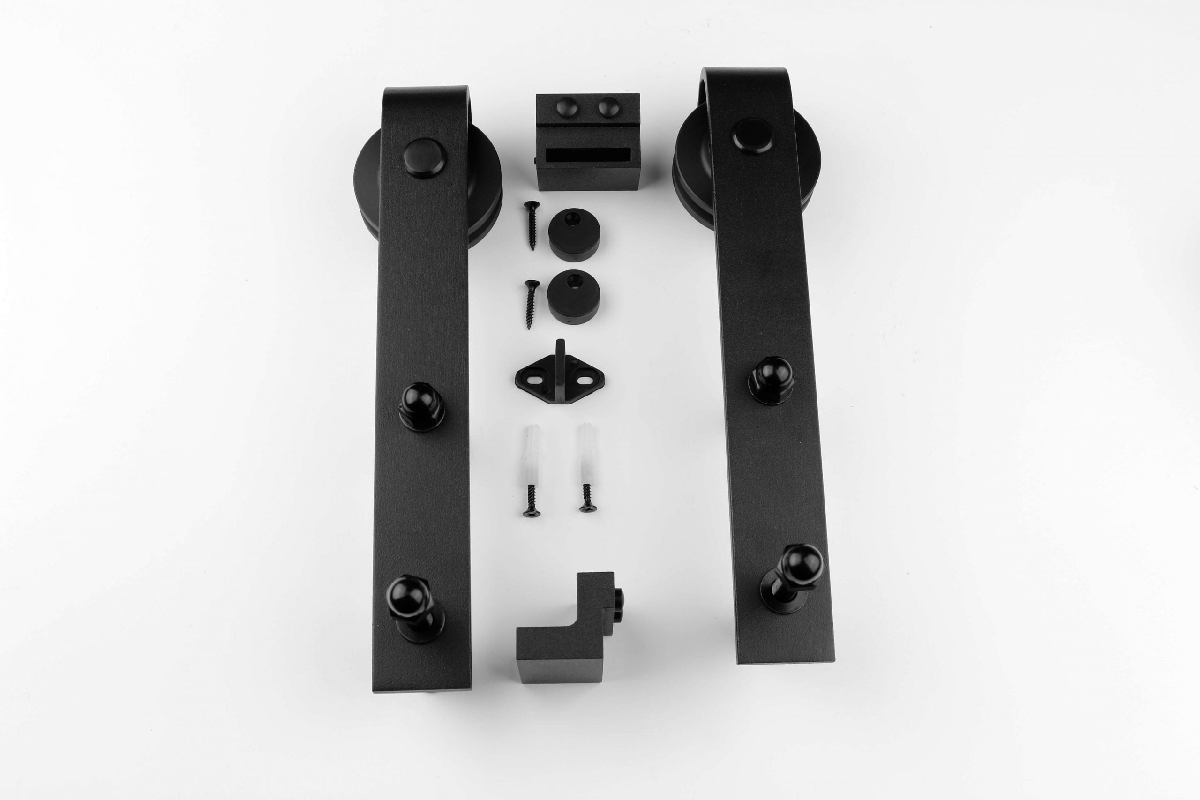 2e deurpakket schuifdeur systeem losse hanger recht