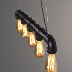 3 Steamlight steammpunk edison pipe lamp steigerbuis
