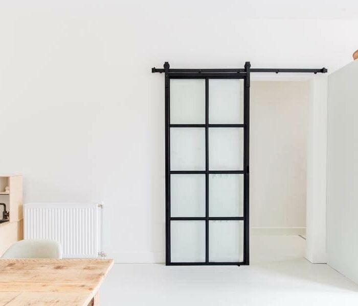 Stalen schuifdeur | Op maat en betaalbaar bij Loftdeur!