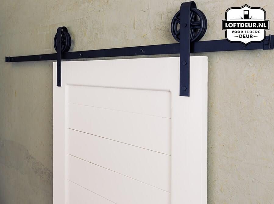 Rails Voor Deuren : Klassiek railsysteem om zelf een schuifdeur te maken loftdeur