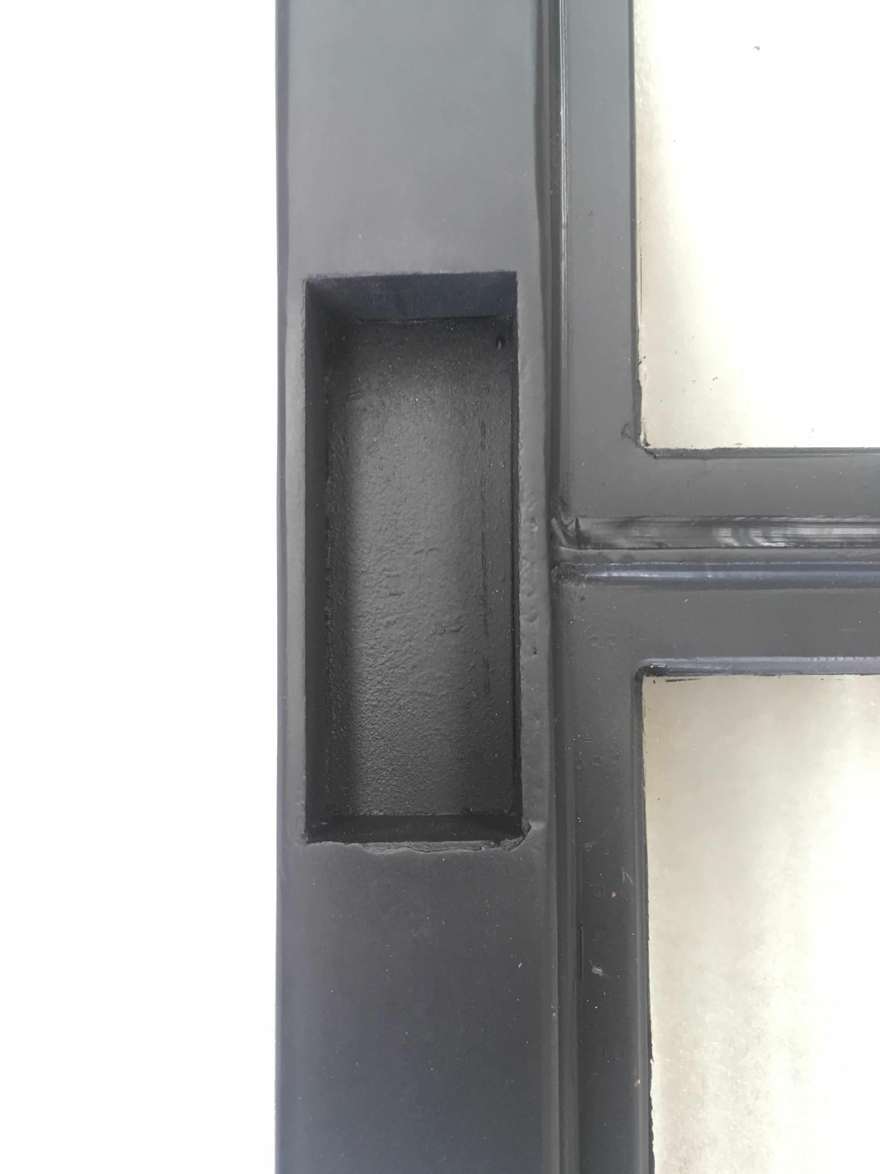 Stalen schuifdeur op maat en betaalbaar bij loftdeur for Zelf vijverfolie lassen