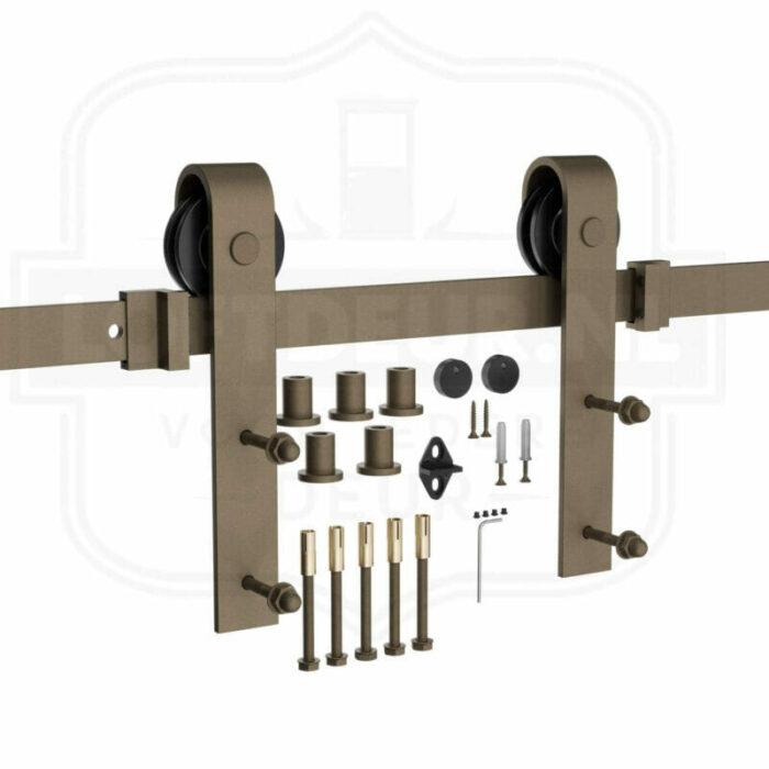 Roest schuifdeur systeem - Klassiek Railsysteem-Loftdeur