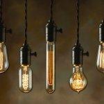 Edison armen met Messing houders