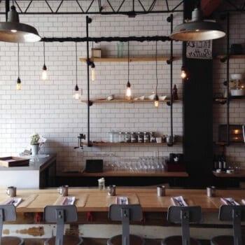 Industriële keuken lamp   loftdeur   unieke lightbar!
