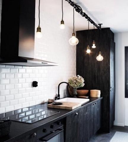 Industriele keukenlamp - Loftdeur lightbar met robuuste uitstraling