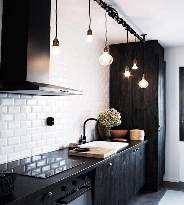 Keukenlamp Design : Industriele keukenlamp – Loftdeur lightbar met robuuste uitstraling