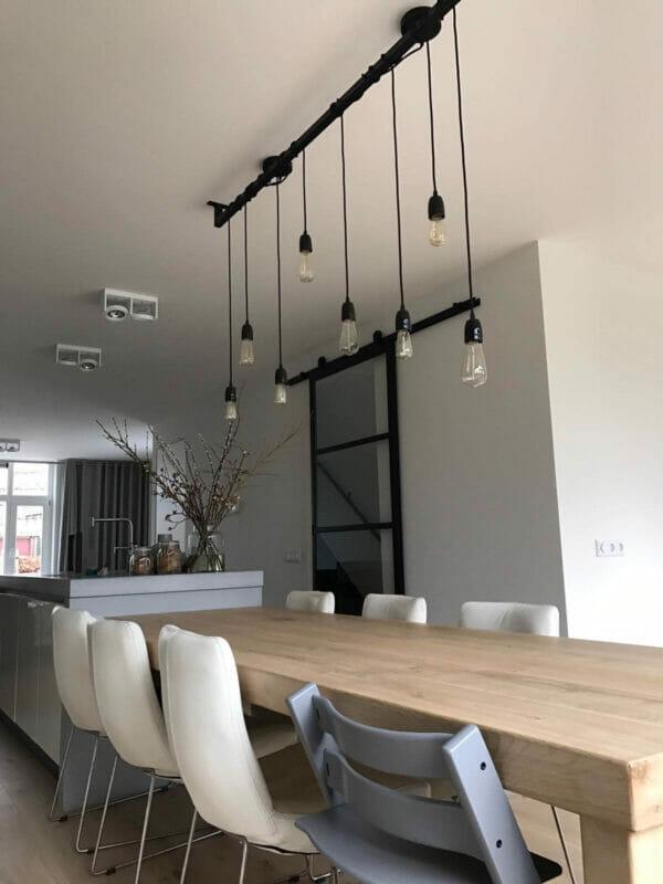 industri le keuken of eettafel lamp kopen opvallend