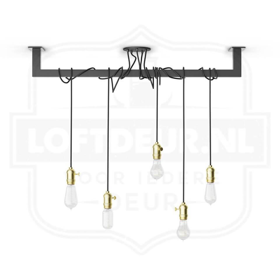 Industriële Loftbar Als Eettafel Lamp? Uniek Industrieel