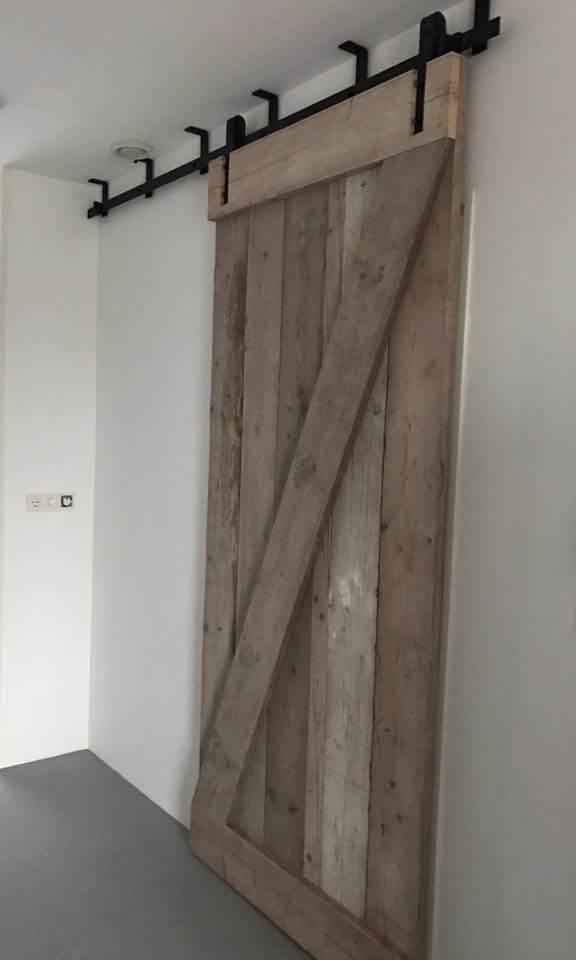 Loftdeur plafond schuifdeursysteem