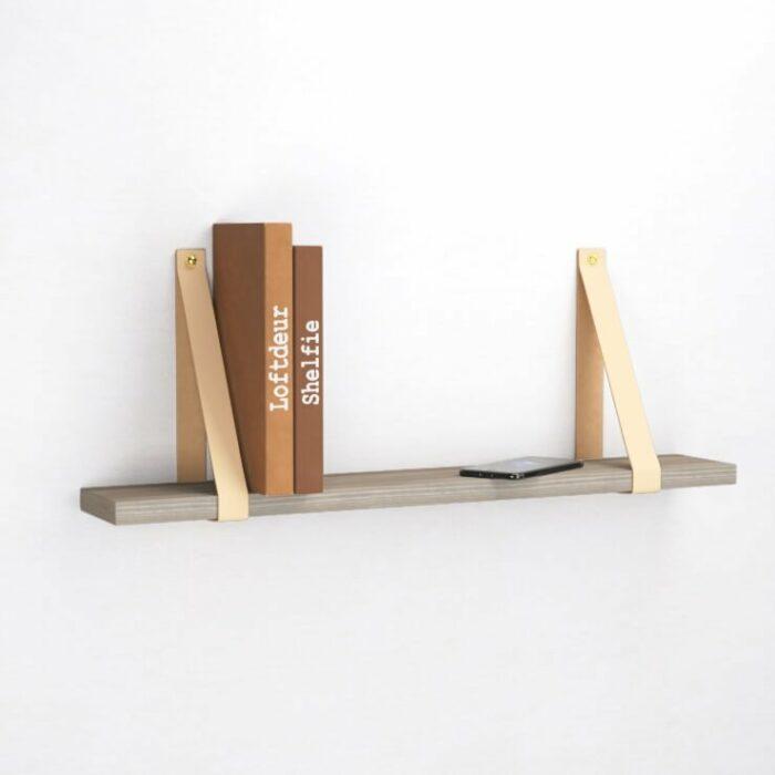 creme-leren-leer-plankdragers-wandplank