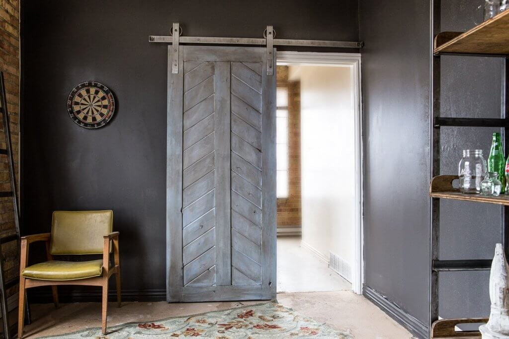 Industriele Loft Woonkamer : Industriële inrichting realiseren loftdeur maakt het mogelijk