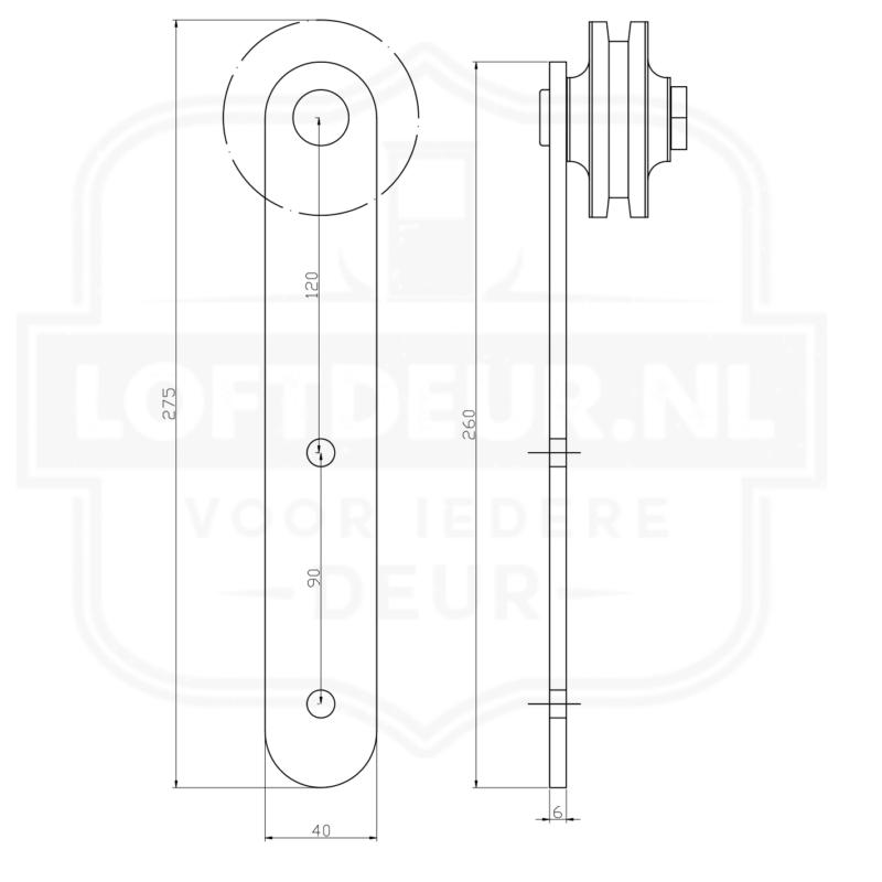 Super Rolstoel Breedte Deur TS11