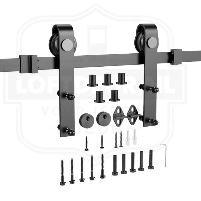 Kastdeurtjes Schuifdeur systeem van Loftdeur voor dressoir of nachtkastjes