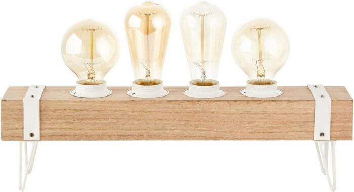 Tafellamp White wood 1