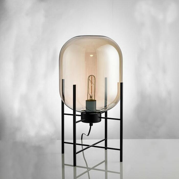 vloerlamp loft 45 cognac